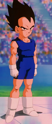 Vegeta Jr. going to fight Goku Jr. in the torunament.