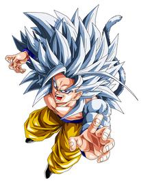 Super Saiyan 5 Arax Aged 20