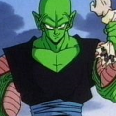 Piccolo shreds off Dr. Gero's arm