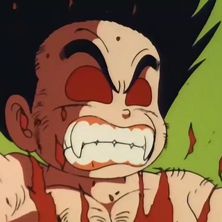 Goku begins his transformation at the 21st World Martial Arts Tournament