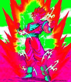 Super Saiyan X2 Goku