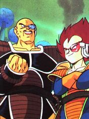 Nappa and his pupil