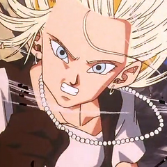 Android 18 moves