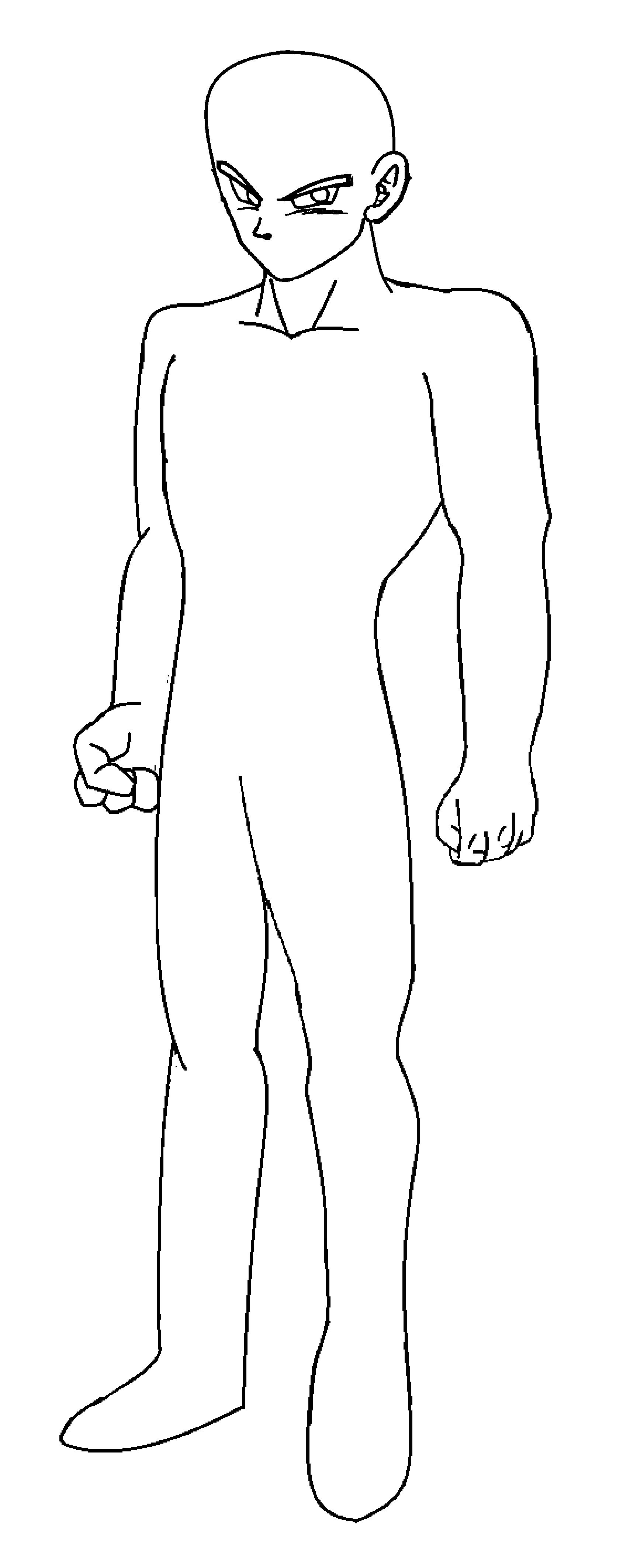 Dragon ball z body templates | Ultra Dragon Ball Wiki | FANDOM ...