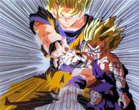 Father Son Kamehameha With Goku