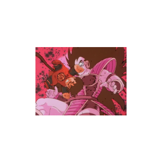 Gohan delivers a heart-breaking smash to his uncle, Raditiz