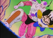 Frieza grabs gohan by the hair2