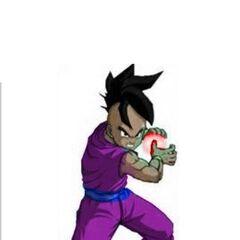 Cole Powering up His Super Majin Blast