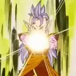 Western Supreme Kai prepares a Full Power Energy Ball