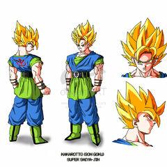 AF SSJ Goku design