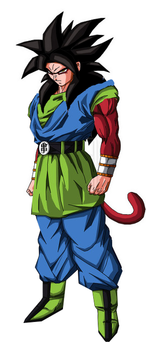 Son Goku AF SSJ4 by Gothax.png  sc 1 st  Ultra Dragon Ball Wiki - Fandom : goku ssj4 costume  - Germanpascual.Com