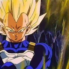 Super Saiyan Vegeta arrives to help in Bojack Unbound.