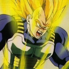 Ascended Super Saiyan Vegeta!