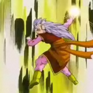 Western Supreme Kai launches her Full Power Energy Ball