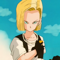 Android 18 in the Imperfect Cell Saga to Cell Games Saga