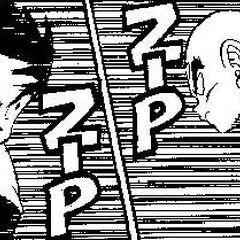 Tien Charging at Goku