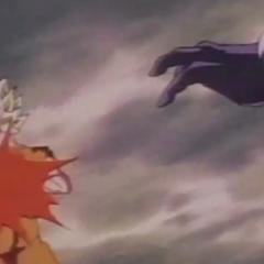 Cooler blast Goku