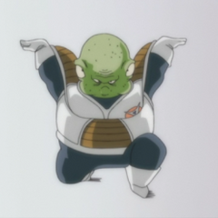 Guldo arrives on Namek