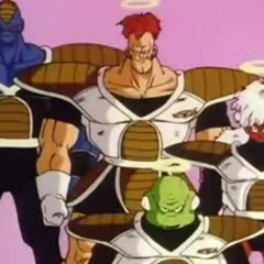 The Ginyu Force is on King Kai's planet