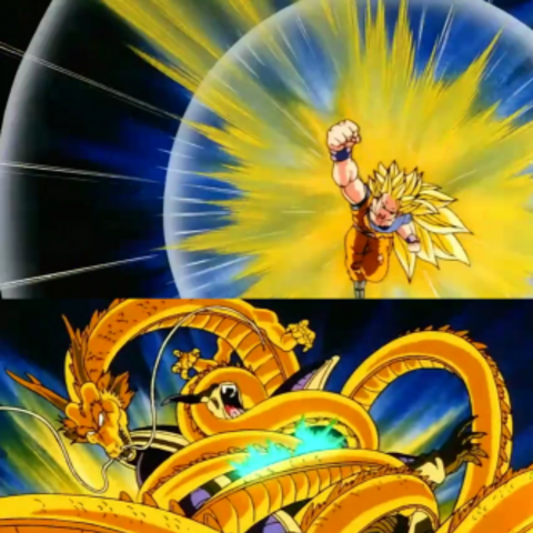Super Saiyan 3 Dragon Fist