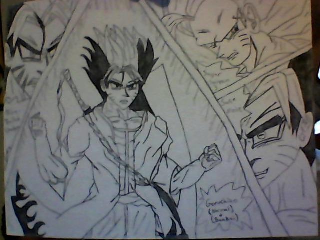 Goku Fusion With Ichigo