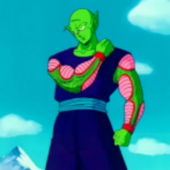 Piccolo prepares to fight Raditz