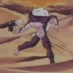 Jiku punches gohan stomach