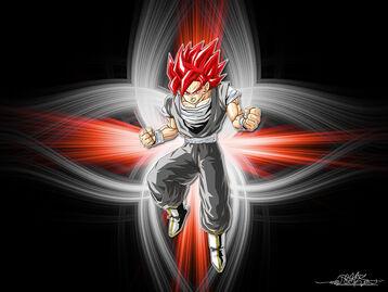 Super Saiyan Evil Goku by Kazmedia