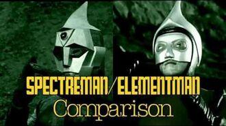 Spectreman Elementman Comparison