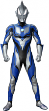 Ultraman Particle render