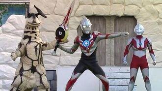 オーブオリジン 初登場! ウルトラマンオーブショー オリジン、初代ウルトラマン、エレキング も出てくるよ 最前列高画質 特撮 Ultraman show kidsshow-0