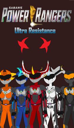 Power Rangers - Ultra Resistance Poster