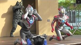 """Ultraman Orb Show 【 Ultra Heroes EXPO 2017 Event Last Event """"FUSION FIGHT"""" 】 Orb Origin X Appears!"""