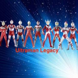 Ultraman Legacy Logo V2
