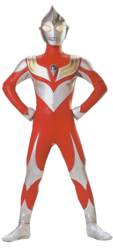 Ultraman Tiga Charecter Power Type