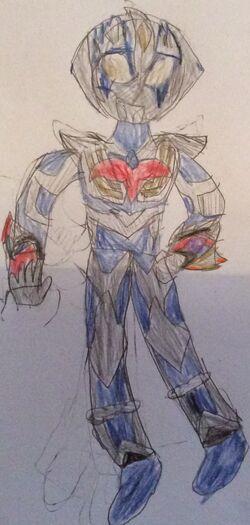 Ultraman Animus Sky Junis Blue
