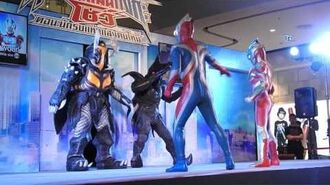 Full HD- Ultraman ginga show @ Central Westgate