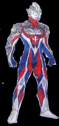 Ultraman Gamma Render