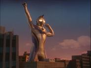 Imitation Ultraman Dyna transforms