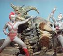 80's Greatest Peril! Transform! Lady Ultraman