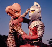 Alien Bud vs. Ultraseven