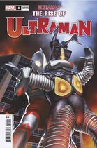 The Rise of Ultraman Issue 1 Cover 4