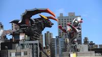 Ultraman X vs. Tsurugi Demaaga