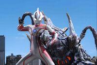 Ultraman Mebius vs. Dinozaur