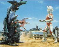 Garan vs. Ultraman Ace 2