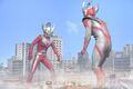 Ultraman Taiga vs. Ultraman Taro
