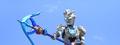 Ultraman Z With Z Lance