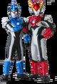 Ultra Heroes - Ultraman Blu & Rosso