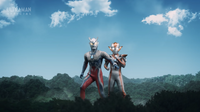 UGFNGH - Ultraman Zero & Ultrawoman Grigio 4
