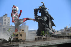 Ultraman X vs Gomess (S)